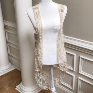 Modcloth crocheted vest